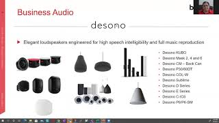 Biamp Webinar- Introduction to Biamp's Brand New Products