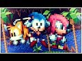 Sonic Mania Chibi Sonic/Tails/Knuckles MOD Gameplay (Download Link)