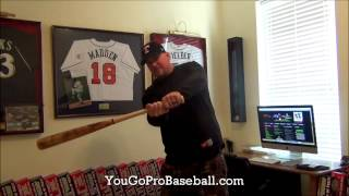 How to stop rolling over when hitting in baseball