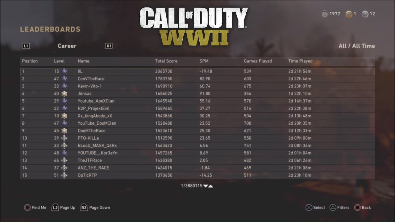 COD WW2 LEADERBOARDS ADDED TO MP & ZOMBIES + HOW THEY WORK! (COD WW2  LEADERBOARDS)