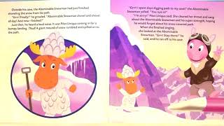 Flight of the Singing Pilot - The Backyardigans - Storybook for Kids