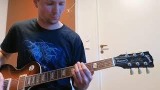 Darkthrone - Hate Cloak Guitar Cover from Eternal Hails 2021