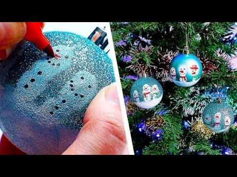 6 Last Minute Christmas Decorations   Easy Ornament Crafts   Christmas Crafts   Craft Factory