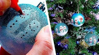 6 DIY Christmas Decorations | Easy Ornament Crafts | Holiday Crafts | Craft Factory
