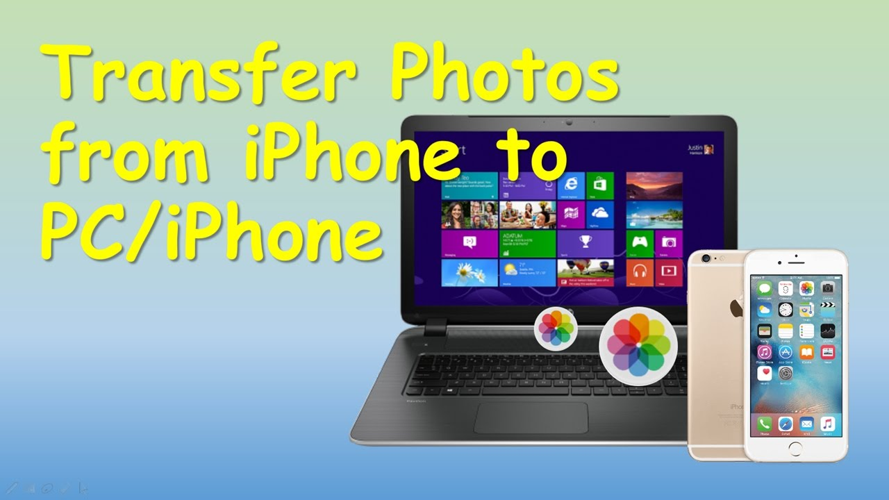 How to Transfer Photos from iPhone to PC without iTunes ...