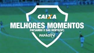 Melhores Momentos - Paysandu X São Bento(sp) - 19/05/2018