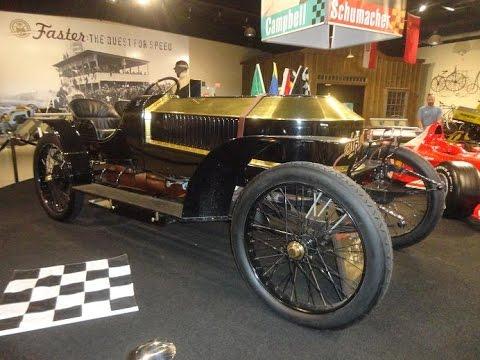 A 1909 Leo Baldwin Stanley Racer Car