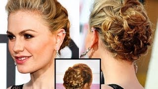 Tuto Chignon façon Anna Paquin (Sookie stackhouse - True blood ) - Orlay Prod.