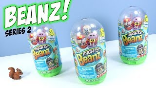 Mighty Beanz Series 2 Slam Packs Unboxing Review Moose Toys