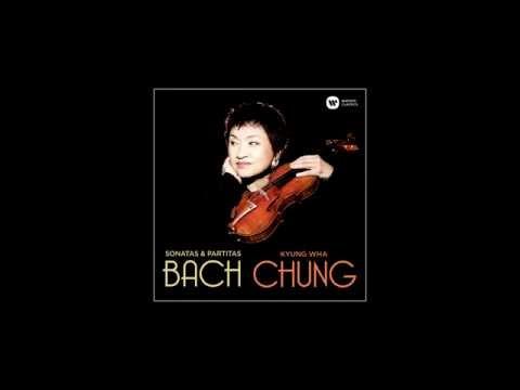 Kyung Wha Chung records Bach Chaconne - Sonatas and Partitas for Solo Violin