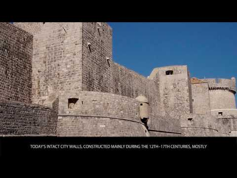 Ancient City Walls of Dubrovnik, Croatia - Tourist Attractions - Wiki Videos by Kinedio