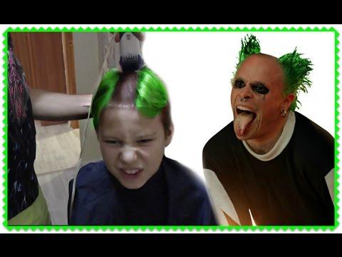 ЧЕЛЛЕНДЖ РЖАЧНАЯ ПРИЧЕСКА Стильная мужская стрижка. Stylish mens haircut.Mohawk Haircut  CHALLENGE