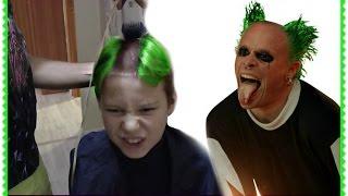 ЧЕЛЛЕНДЖ РЖАЧНАЯ ПРИЧЕСКА Стильная мужская стрижка. Stylish men's haircut.Mohawk Haircut  CHALLENGE