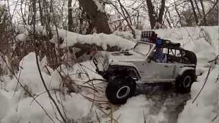 Axial SCX10 Jeep wrangler Rubicon unlimited