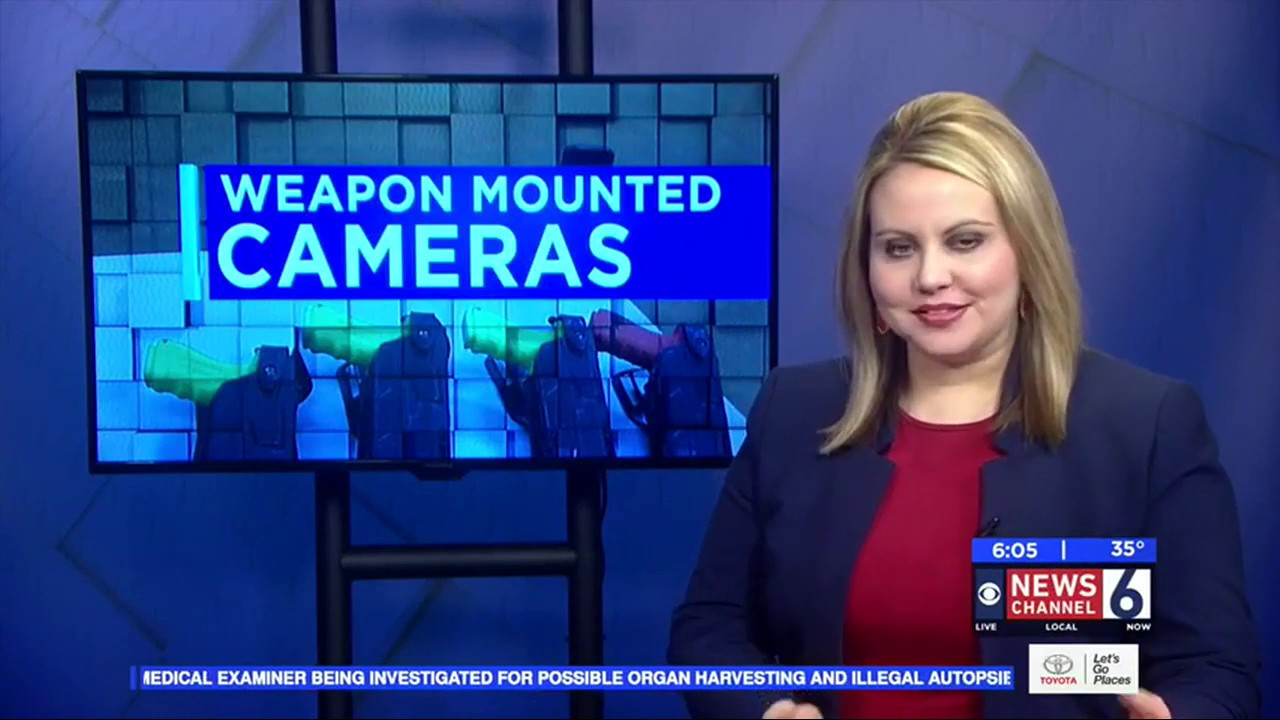 KAUZ Channel 6 News Texas: Vernon Police Implement Weapon-Mounted Cameras