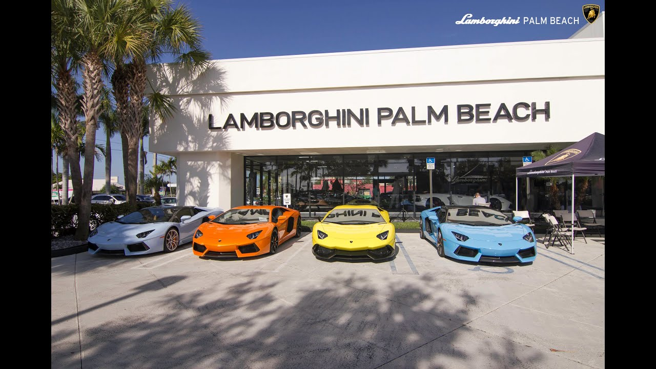 West palm beach lamborghini