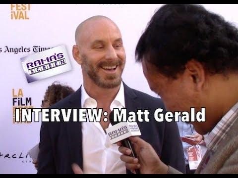 My #LAFF2017 Red Carpet Interview with Matt Gerald | 'SHOT CALLER'