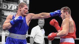 Зарубился с нокаутером Крутой бой Чемпионат России по боксу 2020