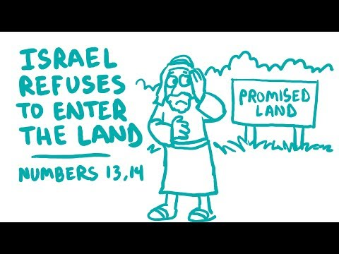 Israel Refuses To Enter The Land Bible Animation (Numbers 13-14)