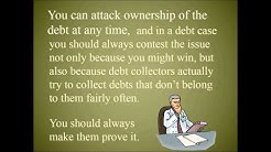 Kicking the Debt Collectors out of Court - Jurisdictional Issues in Debt Law
