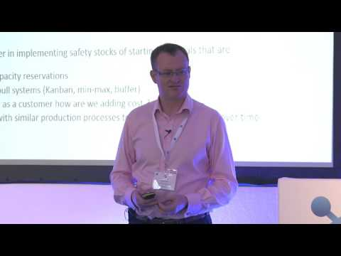 Mike Dicken - Case Studies for agile FMCG supply chains