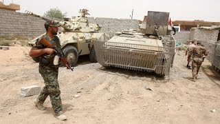 القوات العراقية تحرر 4 مناطق جنوب الفلوجة