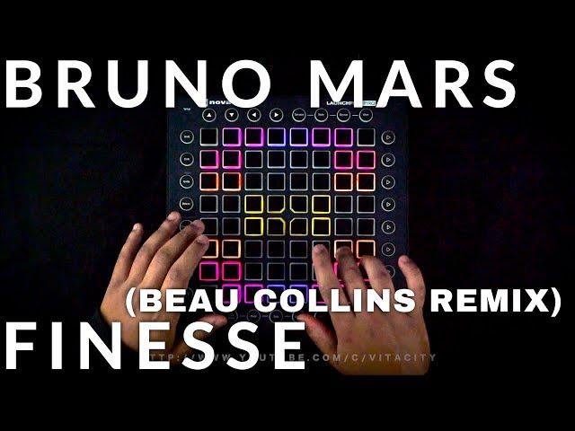 Bruno Mars - Finesse (Beau Collins Remix)// Launchpad Performance