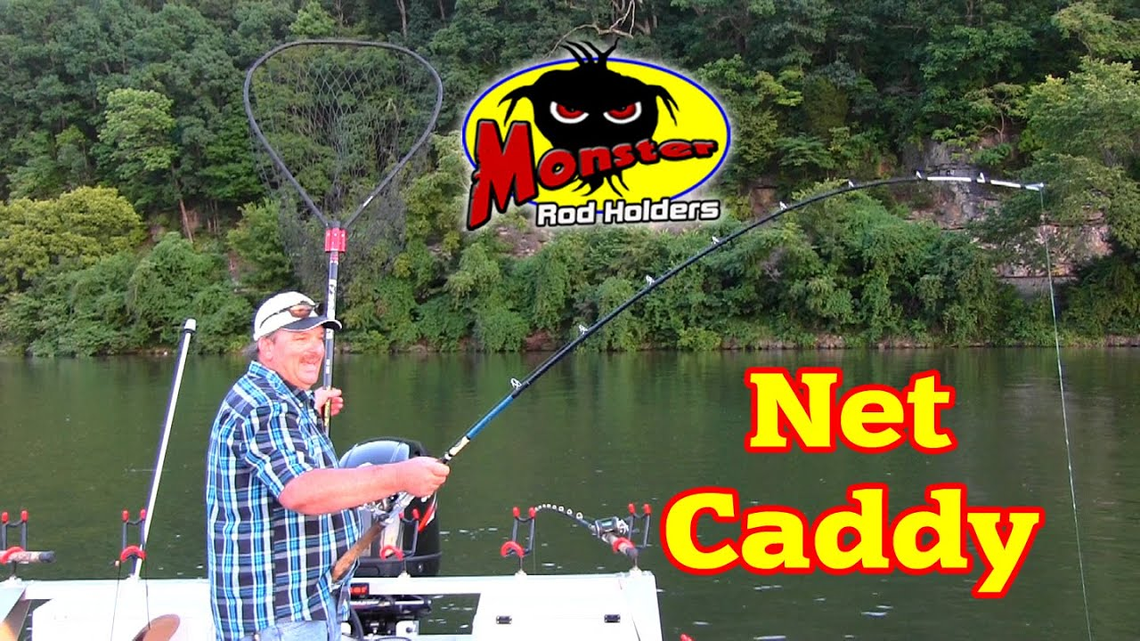 Net Caddy Fishing Net Holder From Monster Rod Holders