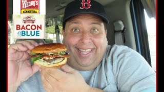 Wendy's Bacon & Blue On Brioche Review!