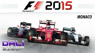 F1 2015 Monaco PC UltraHD 4K Gameplay 60fps 2160p