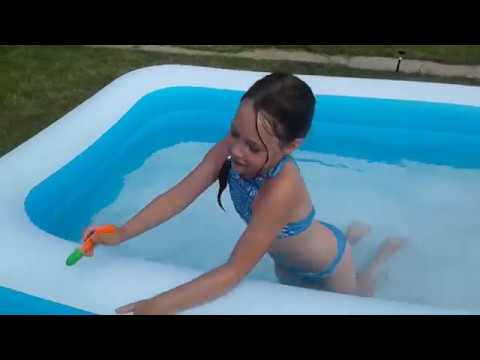 Челлендж в бассейне/challenge in the pool