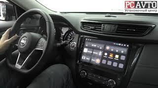 nissan X-Trail T32 - штатная Android-магнитола (поддержка кругового обзора и автопарковки)