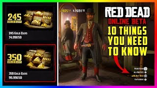 DO NOT Buy Or Spend ANY Gold Bars In Red Dead Online Until You Know These Things First! (RDR2)