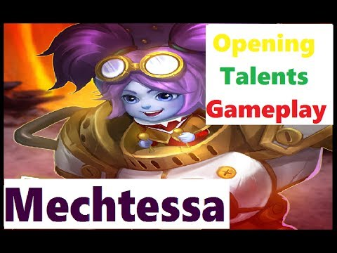 MECHTESSA Gameplay LUCKIEST Talent Roll Castle Clash New Hero Opening