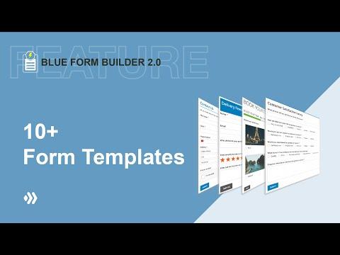 10+ Templates | Blue Form Builder 2 | Magento 2 Form Builder thumbnail
