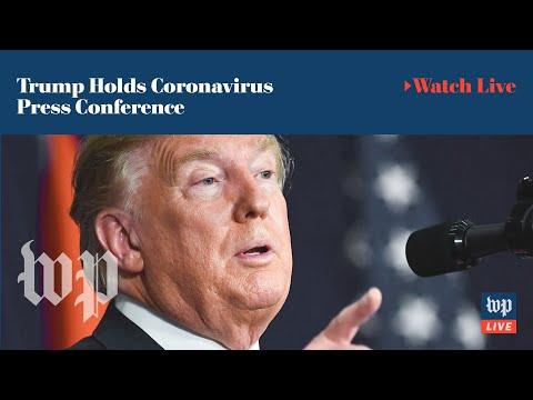 President Trump Holds Coronavirus Press Conference (FULL LIVE STREAM)
