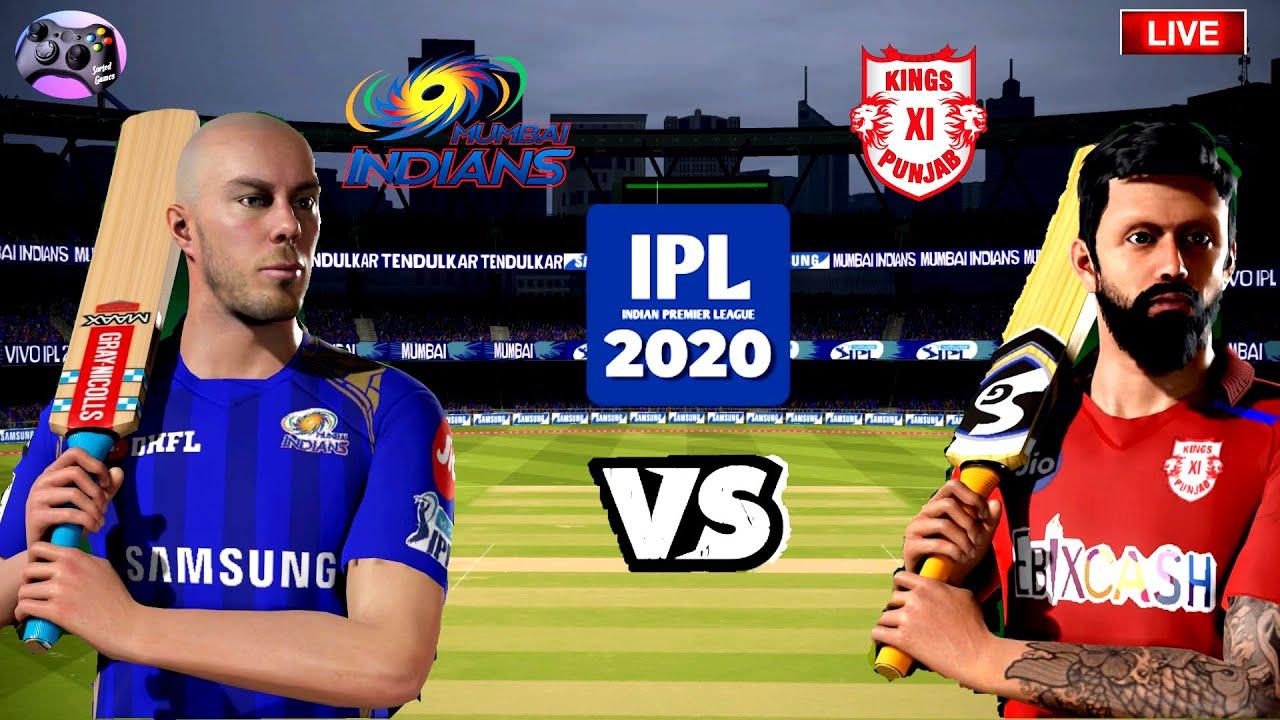 IPL2020|MUMBAI INDIANS vs KINGS XI PUNJAB| LIVE T20 MATCH