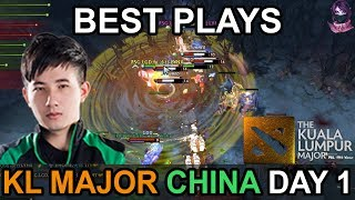 Kuala Lumpur Major BEST PLAYS China DAY 1 Highlights Dota 2 by Time 2 Dota #dota2 #KLMajor