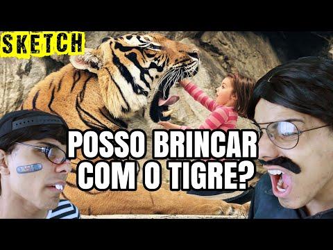 Pai Deixa Eu Brincar com o Tigre | Ohson vs Pai
