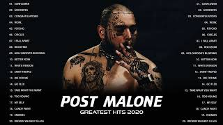Best Songs of Post Malone 2020 - Sunflower, Goodbyes, Congratulations, Wow., Psycho