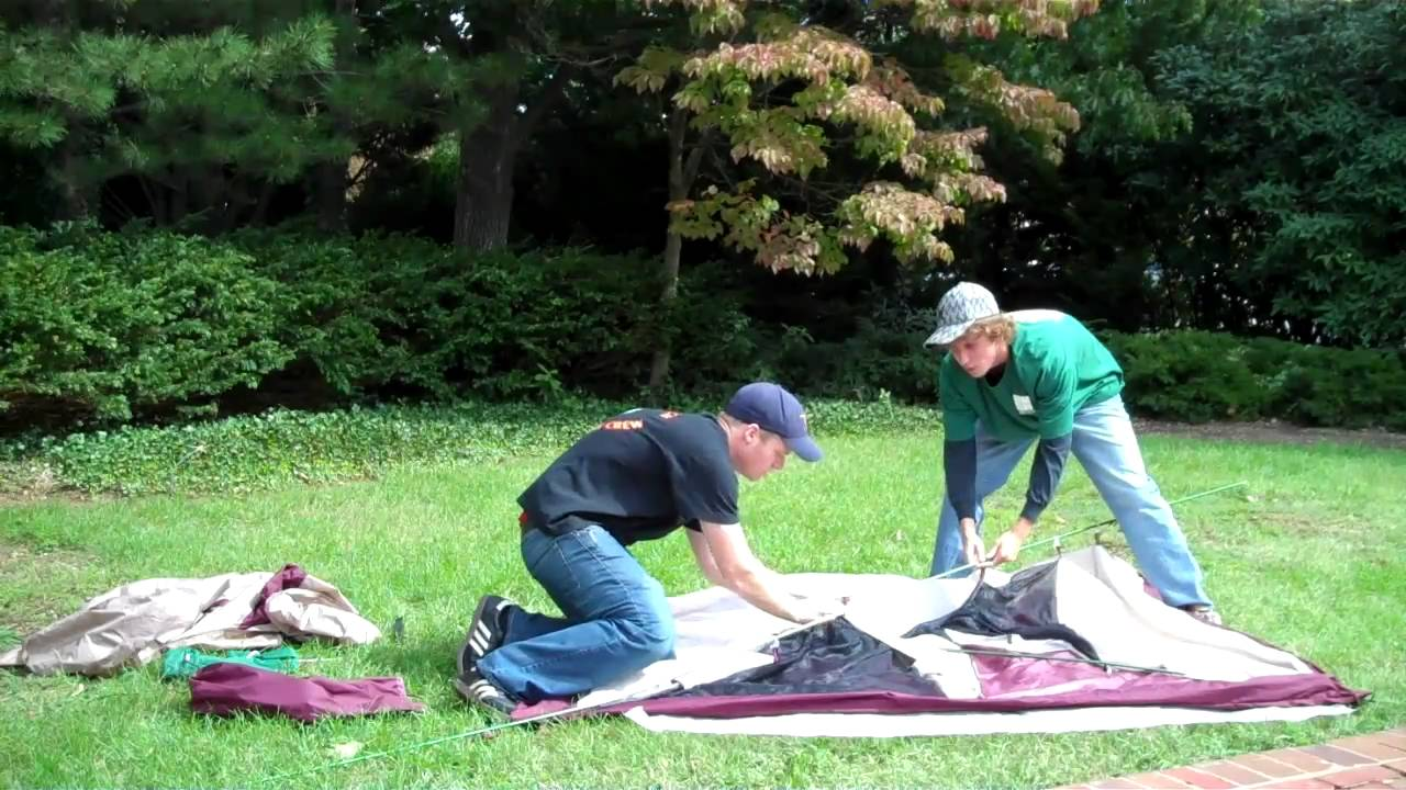 & How to set up a 2 man tent - YouTube