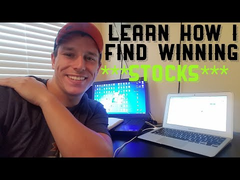 How To Find Winning Stock Picks Every day (Step By Step)