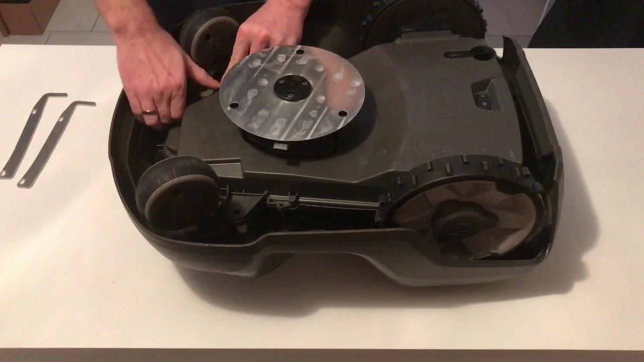Einbau Anleitung Der Hinterräder Abstreifer Reifen Husqvarna