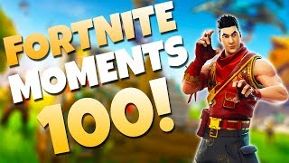 THE LUCKIEST ROCKET RIDE OF ALL TIME! (0.001% CHANCE) | Fortnite Daily Funny and WTF Moments Ep. 100