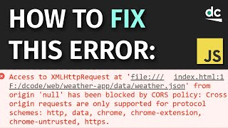 How To Fix: \