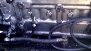 ЯМЗ 238 как узнать попадает ли дизтопливо в масло через ТНВД