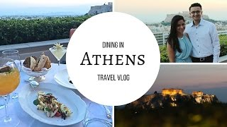 Vlog: A food experience in Athens, Greece | Angelie Sood