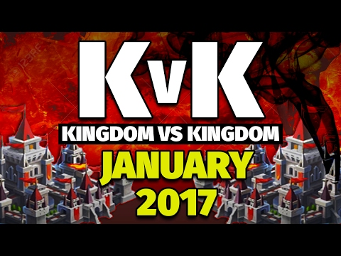 Lords Mobile Kingdom vs Kingdom Jan 2017--- 11Million Kills + 100Million points