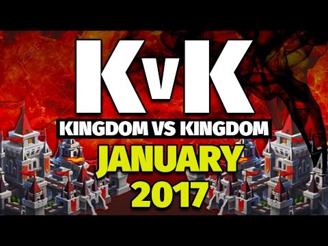 Lords Mobile Kingdom Vs Kingdom Jan 2017--- 11Million Kills + 100Million Points