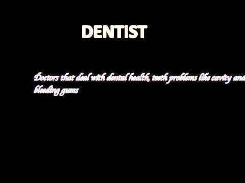 How to pronounce DENTIST